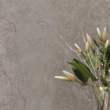 Gres porcellanato rettificato naturale colorato in massa Alpes Wide Grey 80 x 80 ABK