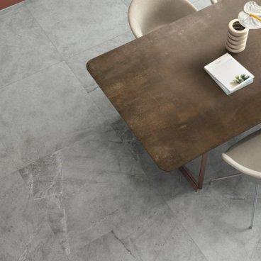Rivestimento in ceramica rettificato decoro naturale Atlantis Grey 30 x 60  ABK