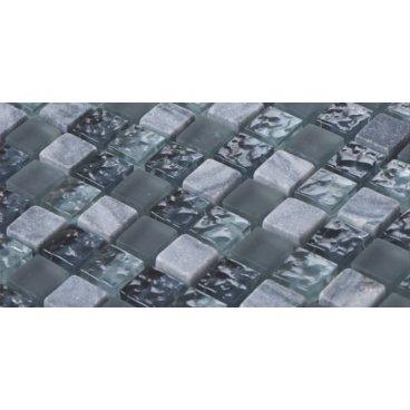 Mosaico in marmo e vetro...