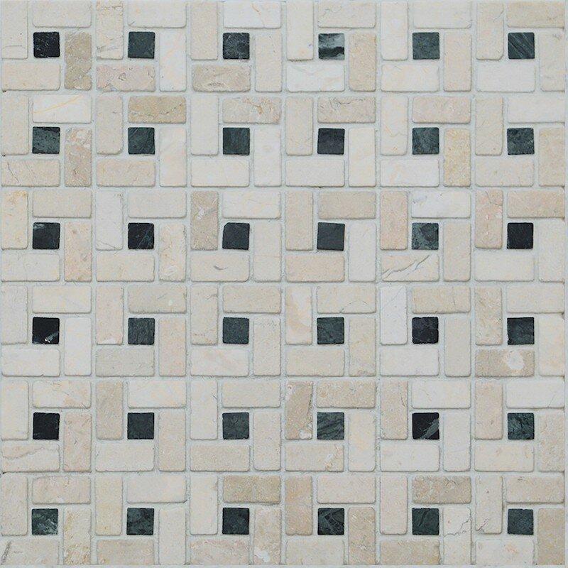 MOSAICO INSERTO VERDE SPAZIO  30,5x30,5 cm