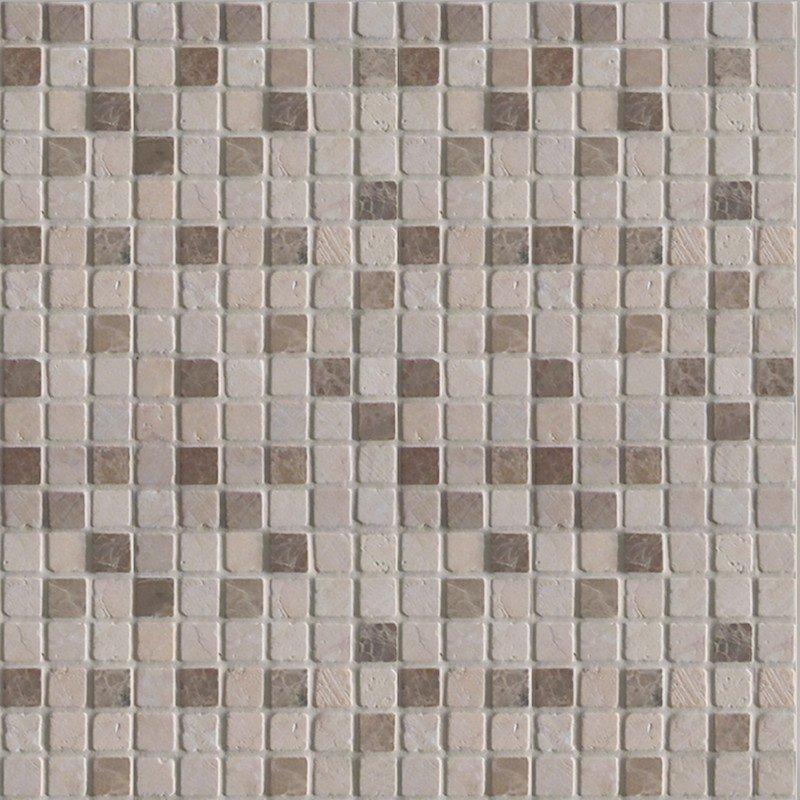 Mosaico in marmo Leuca Spazio 30 X 30 cm
