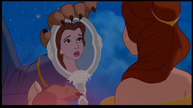 Specchio La bella e la bestia